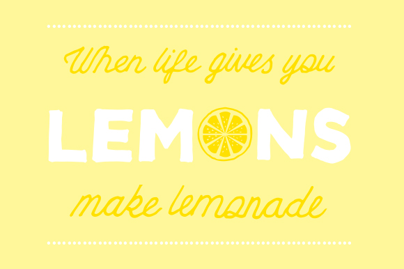 When Life Gives You Lemons Make Lemon Slush The F Word Paradox