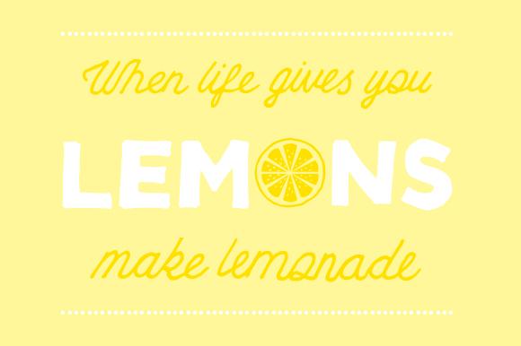 When Life Gives You Lemons Make Lemon Slush The F Word Paradox