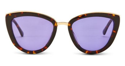 Rose-Tortoise Frame-Purple Therapy Lens $75.00 USD